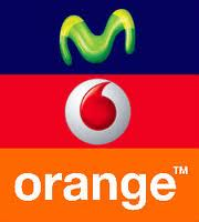 movistar vodafone orange