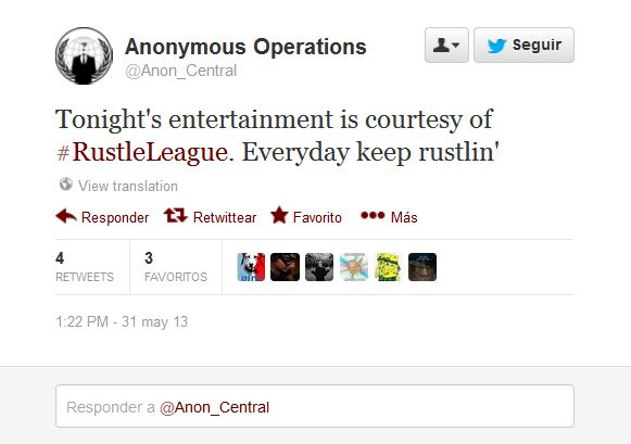 anonymous rustle league