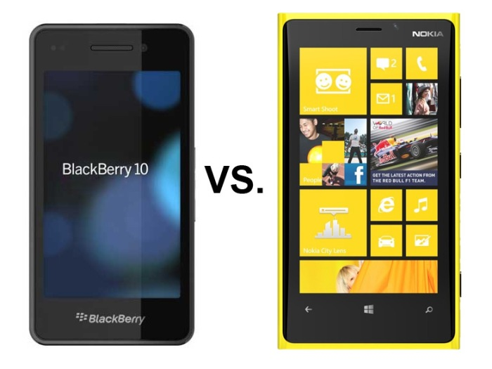 BlackBerry 10 Windows Phone 8