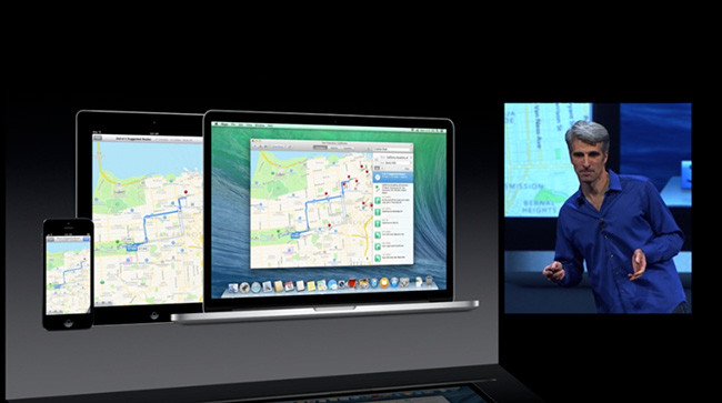 Maps apple