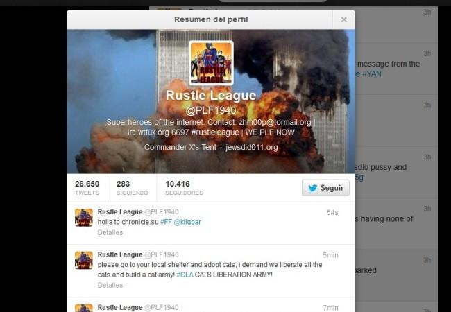 rustle hackea anonymous
